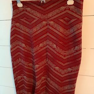 Lularoe Cassie skirt in medium